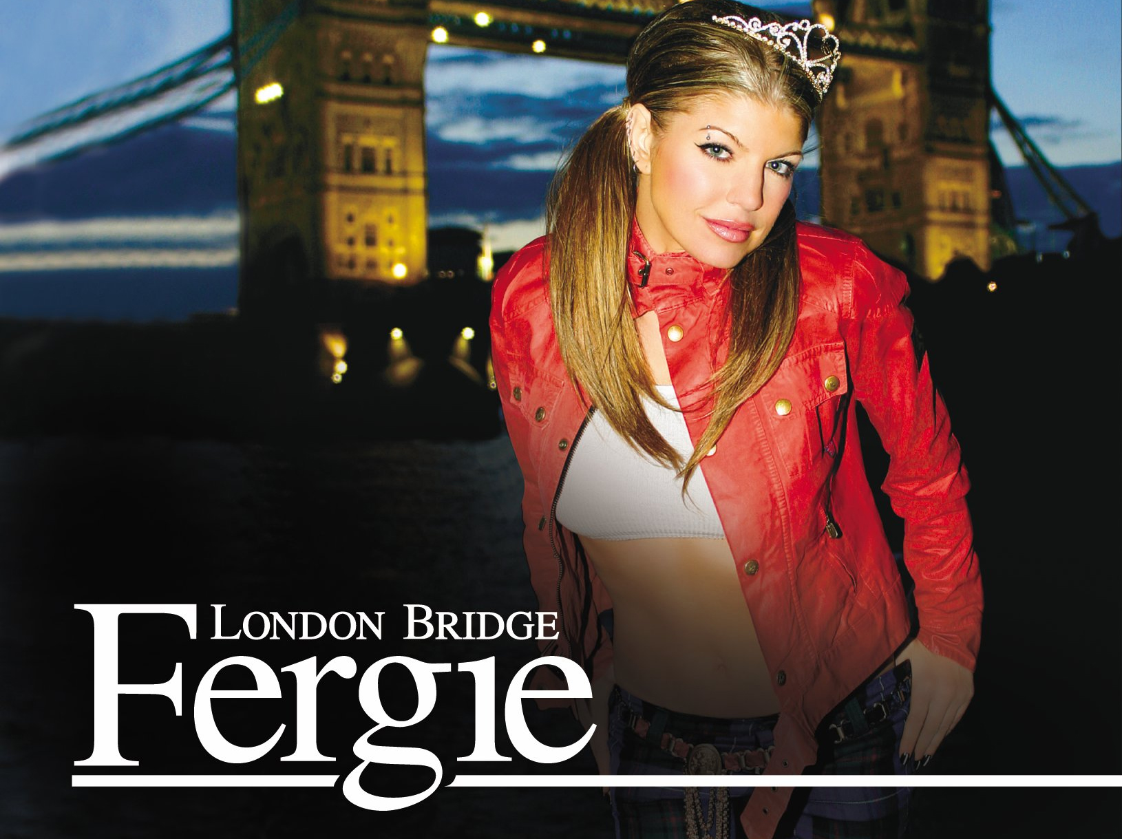 fergie en el video de london bridge: