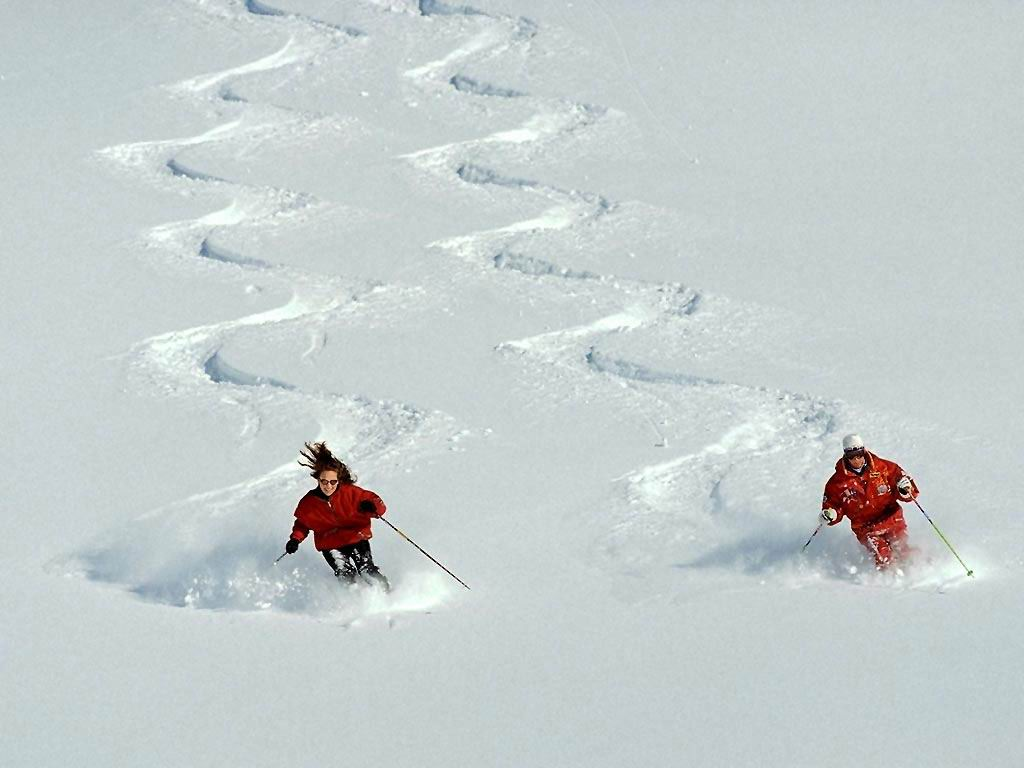 inicio fondos deportes esquí en pareja