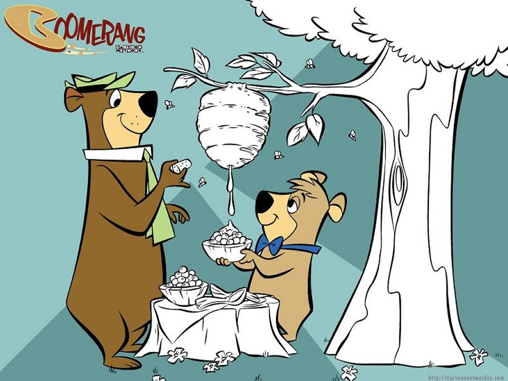 Yogi Bear Cartoon