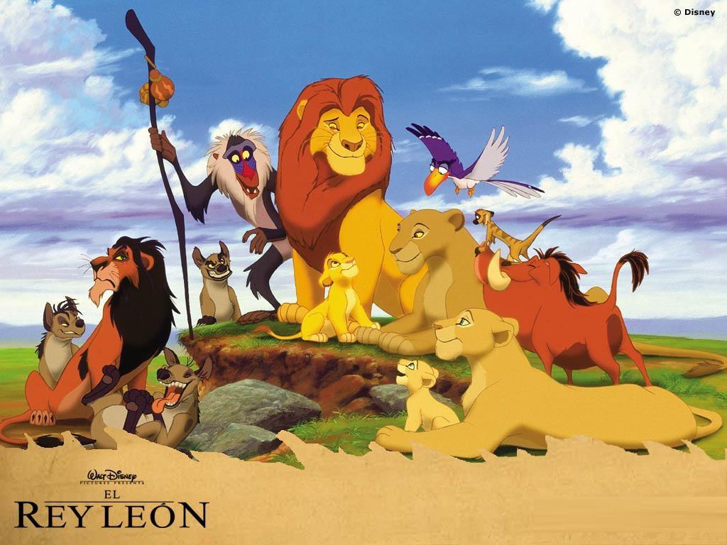 inicio fondos dibujos el rey león