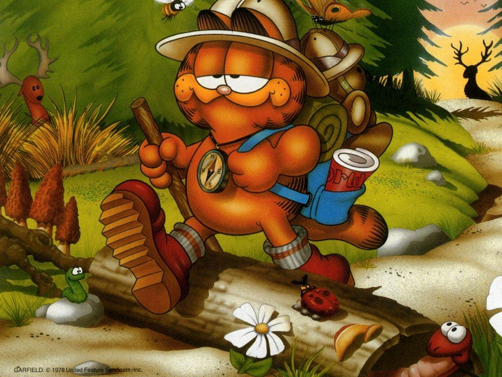 Garfield Valentine's Day Desktop Backgrounds