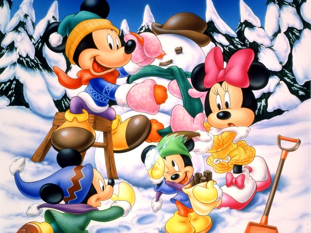 Walt Disney & Mickey Mouse Wallpaper